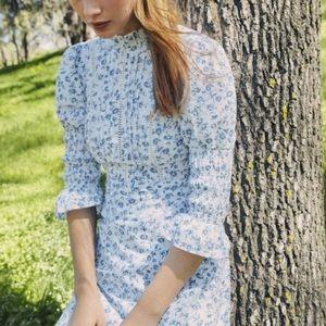 Laura Ashley x UO Maisy Floral Mini Dress Size M